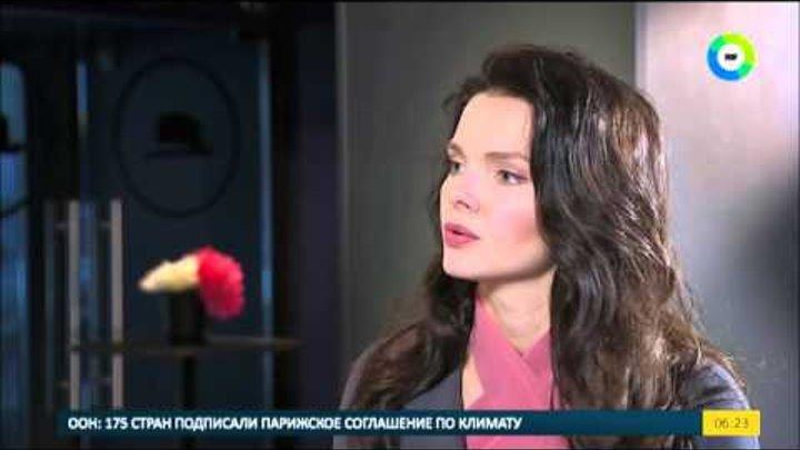 """Звездный завтрак с актрисой Елизаветой Боярской. """"Папа - мой самый строгий критик""""."""