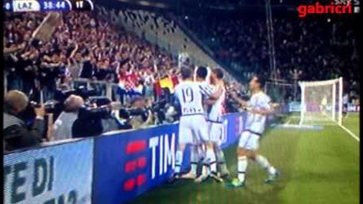 Juventus Lazio 3 0 gol Mandzukic telecronaca tifoso Juventus Sky Sport