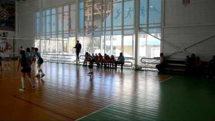 Краснодарский край. Девочки 2005-2006г.р. Абинск - Крымск 0:2.