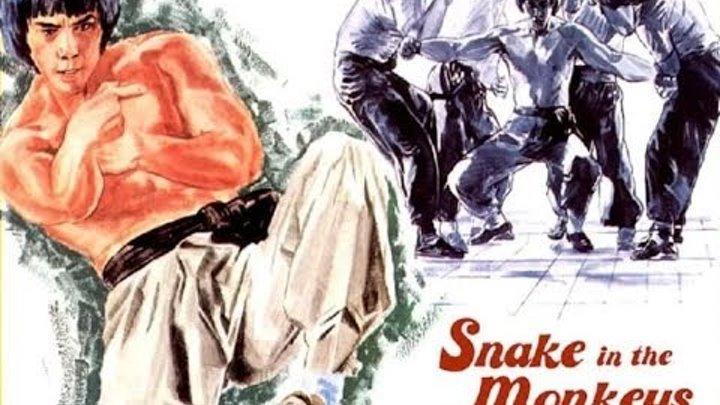 Змея в тени обезьян (боевые искусства 1979 год)
