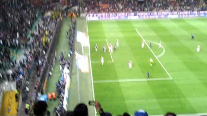 Inter - Milan 4-2 (06.05.2012) - Gol di Douglas Maicon ripreso dallo stadio