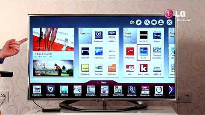 LG LED Smart TV - 8 SmartTV / HbbTV / Apps / Internet