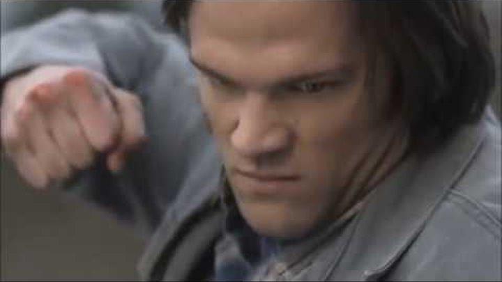 Сэм прыгает в воронку в ад! Я не оставлю тебя Сэмми! (Сверхъестественное 5 сезон 22 серия)
