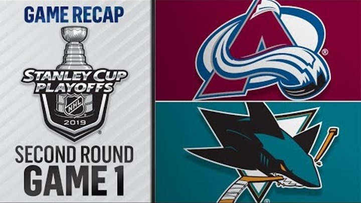 Burns nets four points to lead Sharks to Game 1 win