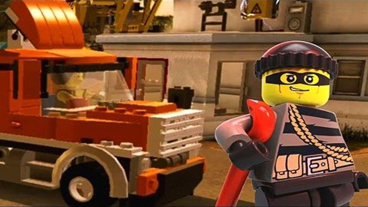Мультфильм LEGO City про полицейские МАШИНКИ, Лего Сити Все серии на русском Super Транспорт