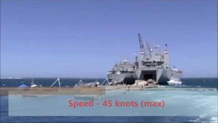 HSV 2 Swift Hybrid Catamaran Australian Ship For US Navy