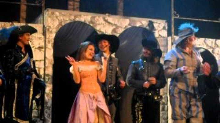 """Мюзикл """"Три мушкетера"""" - поклоны"""