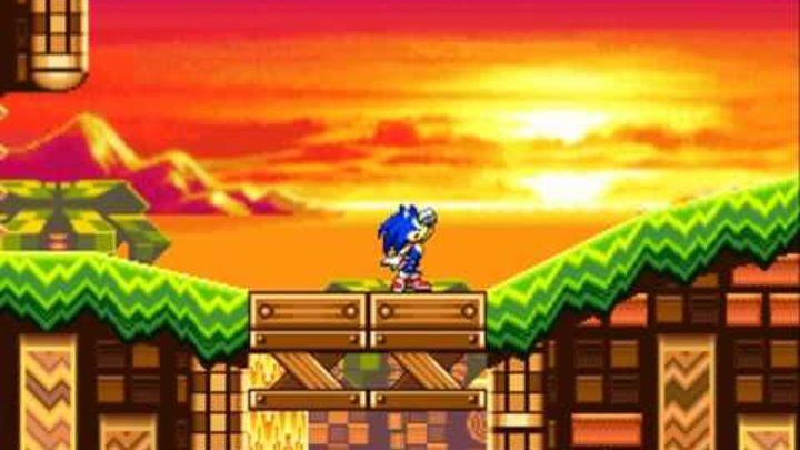 Super Sonic Knockout - D5 Story Cutscene 3