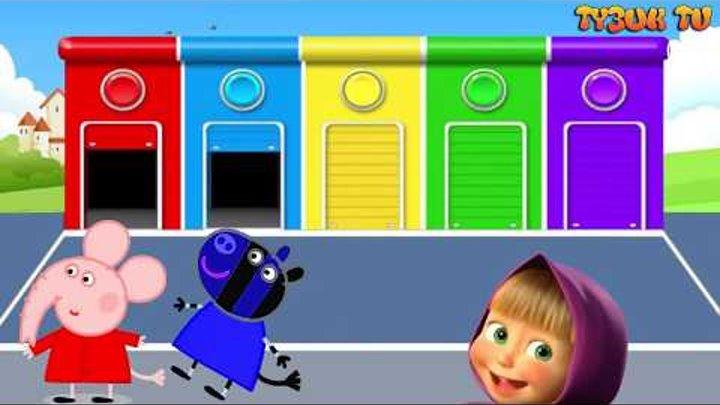 Свинка Пеппа - Щенячий патруль - мультфильм на русском языке - Семья пальчиков - Все серии подряд