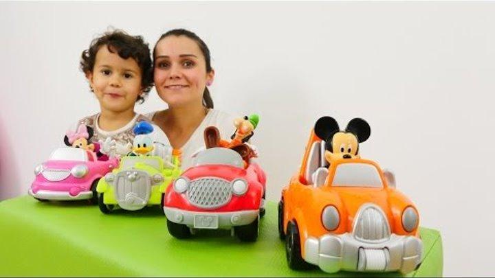 Видео для детей: Микки Маус и Дональд Дак. Игрушки для детей. Игры для детей