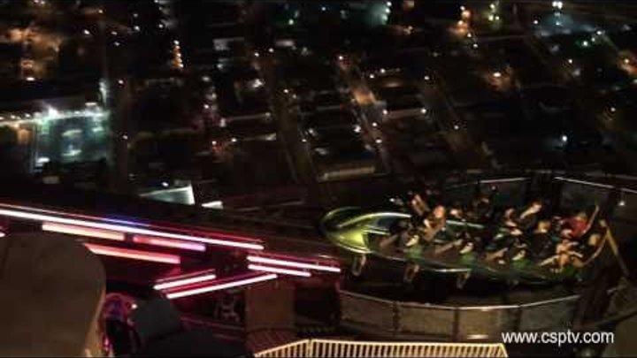 X Scream Ride Stratosphere Las Vegas HD