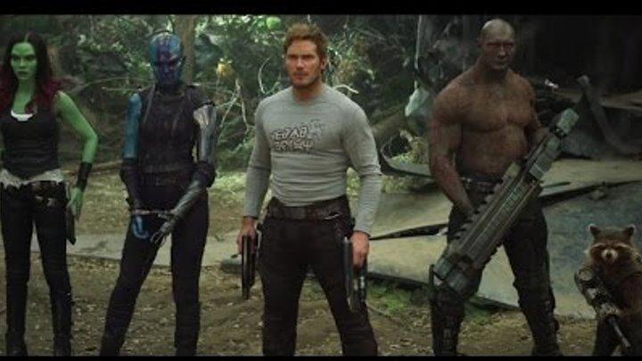 Стражи Галактики. Часть 2 / Guardians of the Galaxy Vol 2 (2017) Второй трейлер HD