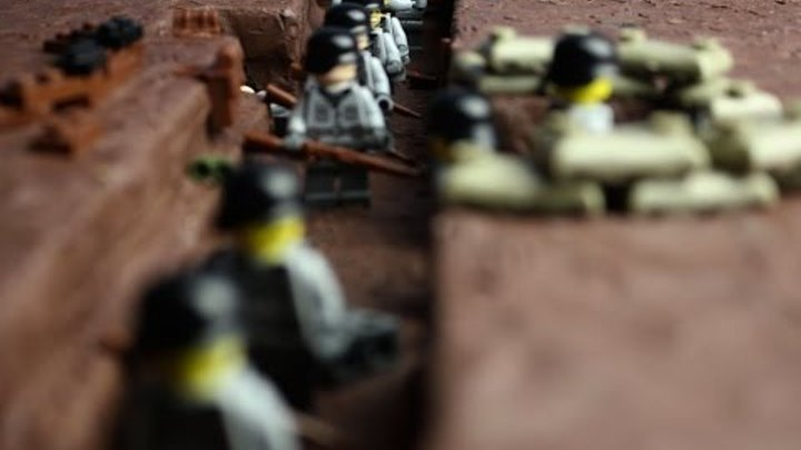 Лего мультик 9 мая battle WW2 LEGO