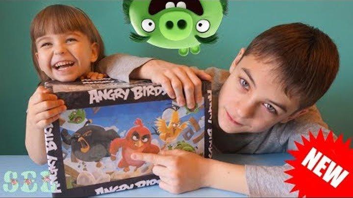 ЗЛЫЕ ПТИЧКИ ОТКРЫВАЕМ ОГРОМНУЮ ПОСЫЛКУ Энгри Бердс Игрушки Сладости Angry Birds Toys