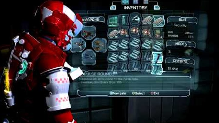 Dead Space 2 - Secret Room in Chapter 7 and Security Suit & Plasma Cutter mod!