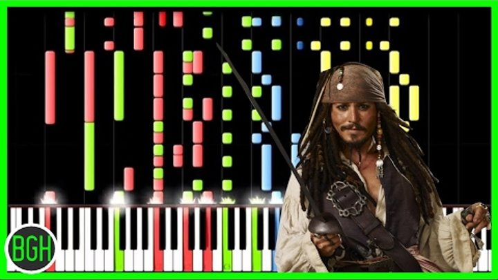 IMPOSSIBLE REMIX - Pirates of the Caribbean Medley
