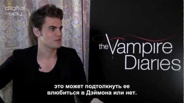 Дневники Вампира - Пол Уэсли о финале 3 сезона |TVD (rus sub)