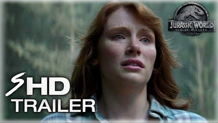 Jurassic World 2: Fallen Kingdom (2018) First Look Trailer - Chris Pratt, Bryce Dallas Howard