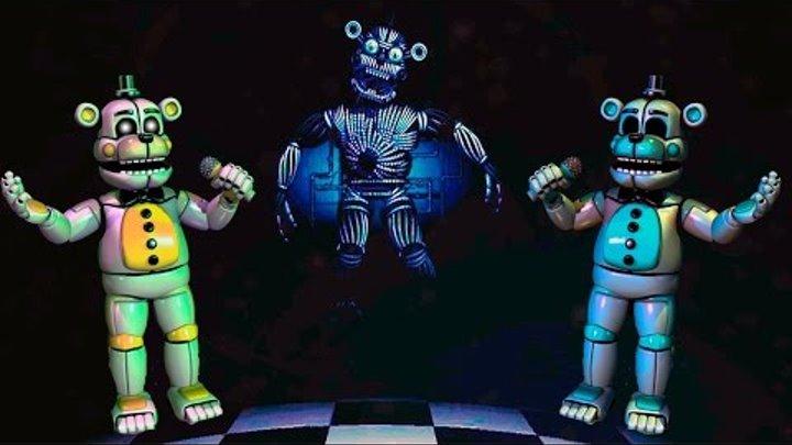 👊 СЕКРЕТНЫЙ АНИМАТРОНИК - ГОЛДЕН ФРЕДДИ - Five Nights at Freddy's Sister Location Теории и Секреты