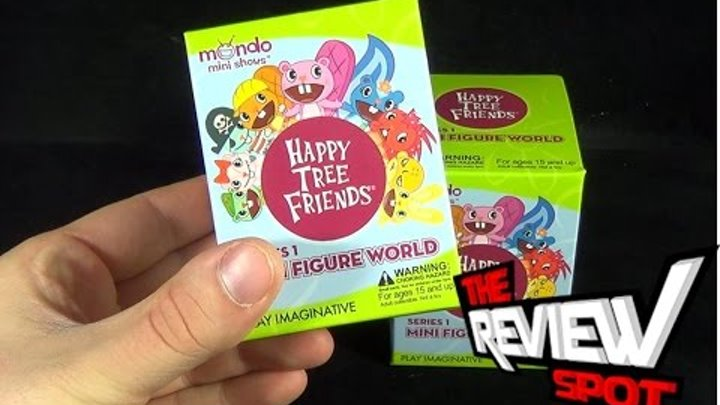 Collectible Spot - Play Imaginative Happy Tree Friends Mini Figure World Series 1 Blind Box