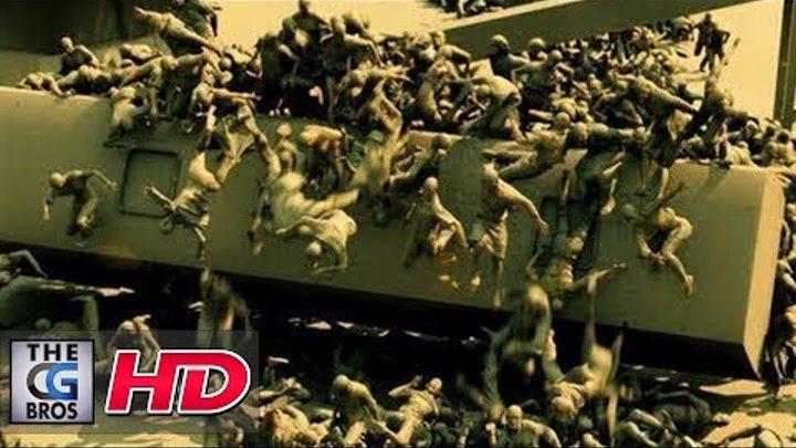"CGI VFX Breakdowns: ""World War Z, Jerusalem Sequence"" by MPC"