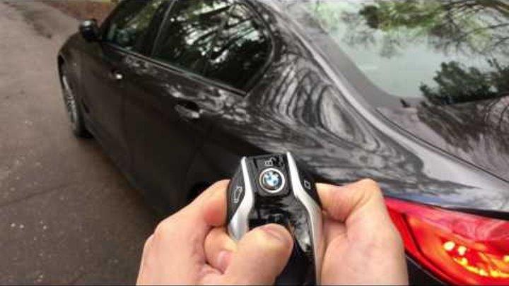 BMW 5-й серии (G30) - Дистанционная парковка