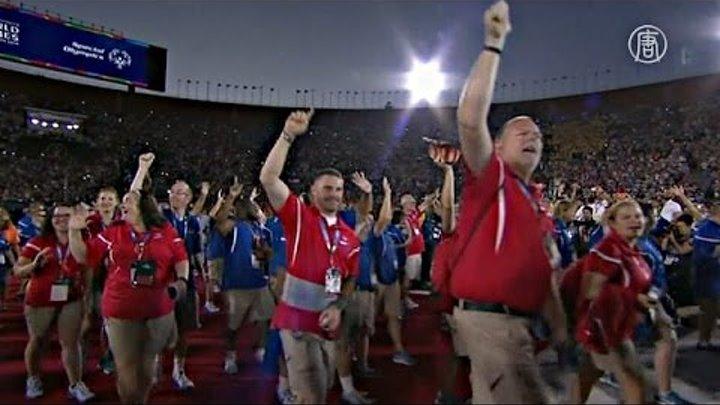 Началась Олимпиада для людей с умственной отсталостью (новости)