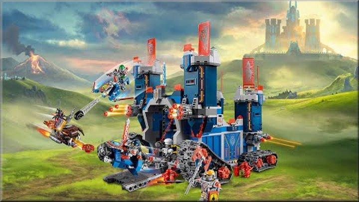 LEGO NEXO KNIGHTS: Фортрекс – мобильная крепость 70317 Обзор