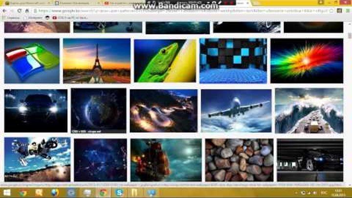 Как поменять фон рабочего стола на Windows 8 8.1