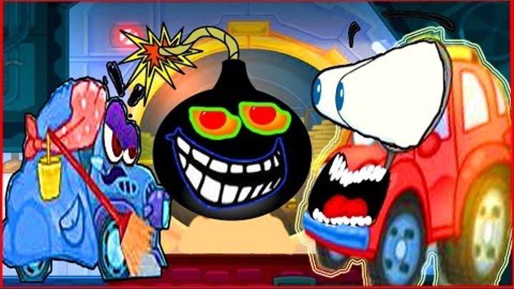 Вилли Wheely Мультик мультфильм игра для детей малышей про красную машинку часть 7