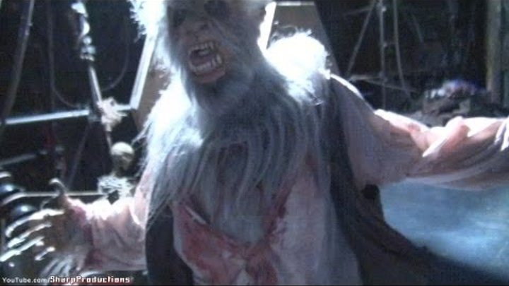 The Wolfman at Halloween Horror Nights 2011 Universal Studios Hollywood