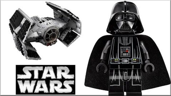 Лего Звёздные войны 75150 Истребитель Вейдера. Обзор LEGO Star Wars Vader TIE vs. A-Wing Starfighter
