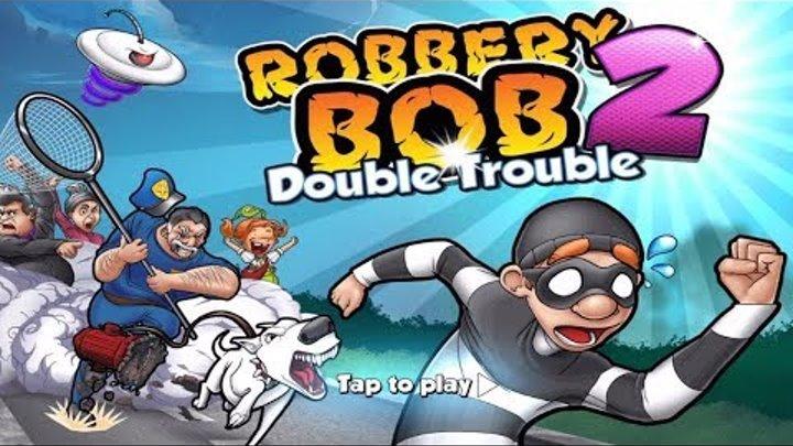 ВОРИШКА БОБ серия 1 Прохождения игры Игровой мультик Приключения воришки Боба игра Robbery Bob 2017