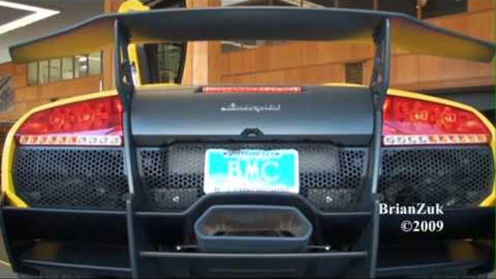 Lamborghini Murcielago LP670-4 SV Engine Start