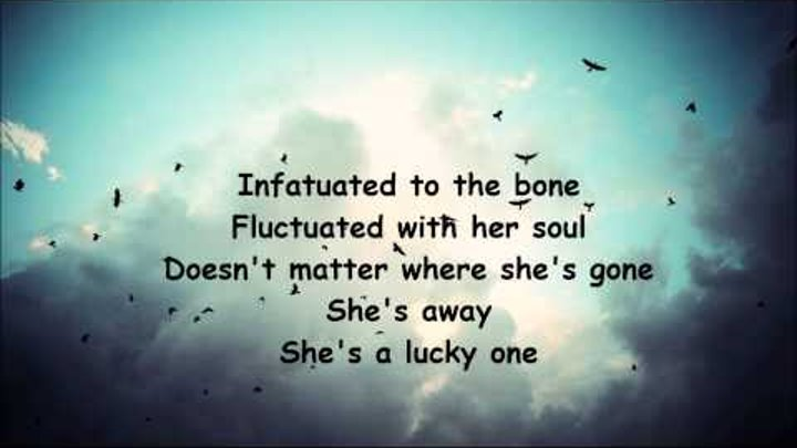 She's the lucky one lyrics (Victoria F. Beaumont)