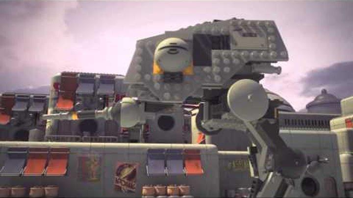 LEGO® Star Wars™ Rebels 2015 Mini Movie Ep 03 - Ezra vs AT-DP