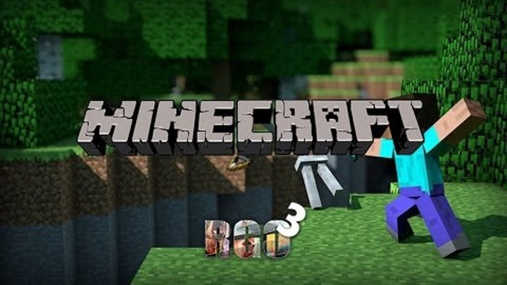 """""""RAPGAMEOBZOR 3"""" - Minecraft"""