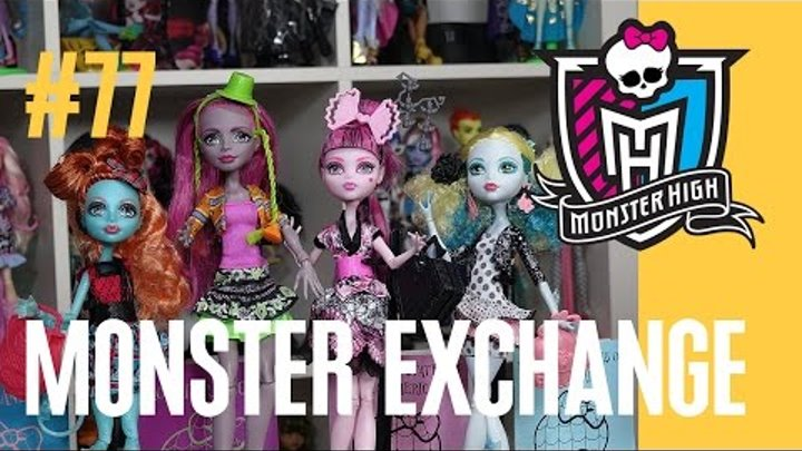 новые куклы Лорна и Марисоль (Monster Exchange) Монстр Хай