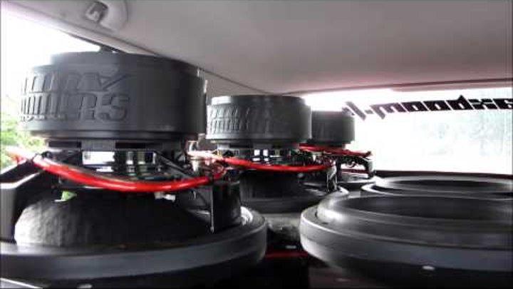 Sundown Audio 8xSA-12s + ~6kW pt.3