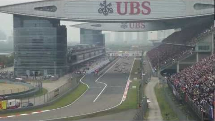 2012 Formula 1 UBS Chinese Grand Prix - The Start