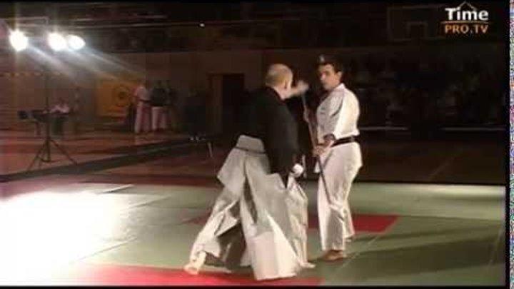 Боевые искусства мира. Госоку-рю каратэ - техники японского меча. Часть 3.