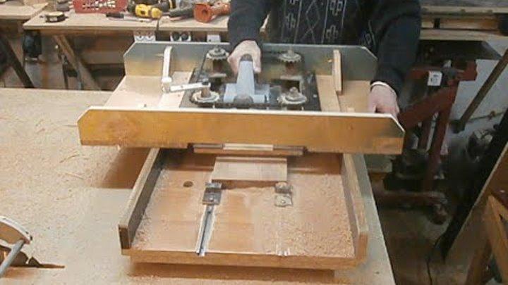 Рейсмус своими руками. Часть 2. Home-made benchtop thicknesser. Part 2.