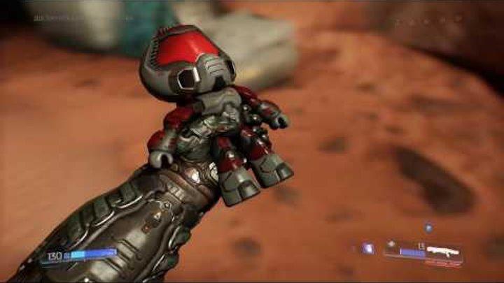 DOOM - Ад на Марсе. Прохождение игры FullHD (1080p 60fps)