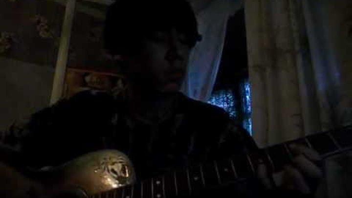 аниме!игра на гитаре(стальной алхимик)