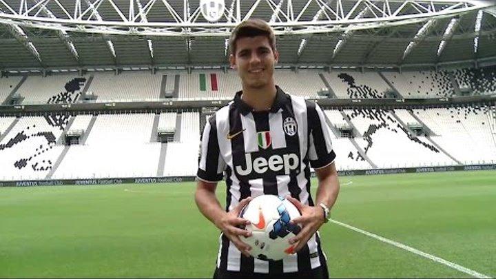 Il primo giorno di Morata alla Juventus - #MorataDay