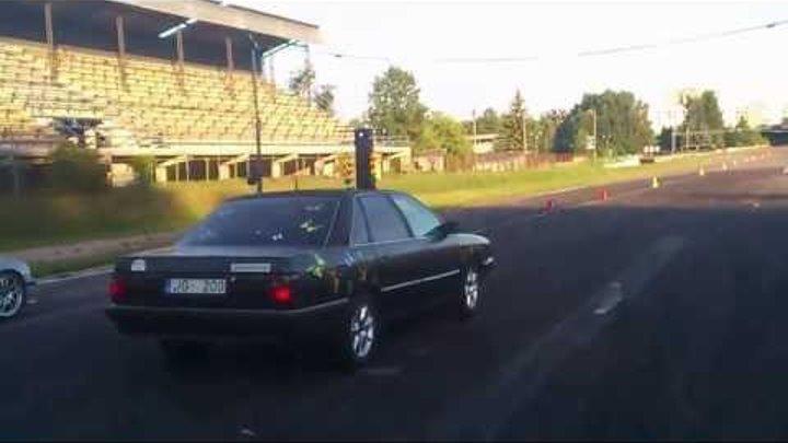 AUDI 200 20v turbo quattro vs BMW