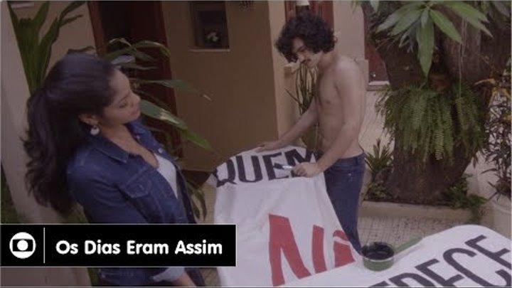 Os Dias Eram Assim: capítulo 43 da novela, sexta, 30 de junho, na Globo