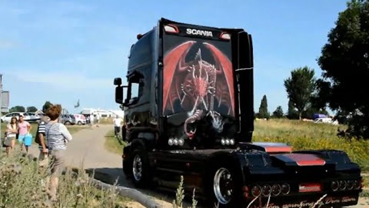 Scania V8 Film Mix 2014 - Loud Pipes Saves Lives! HD
