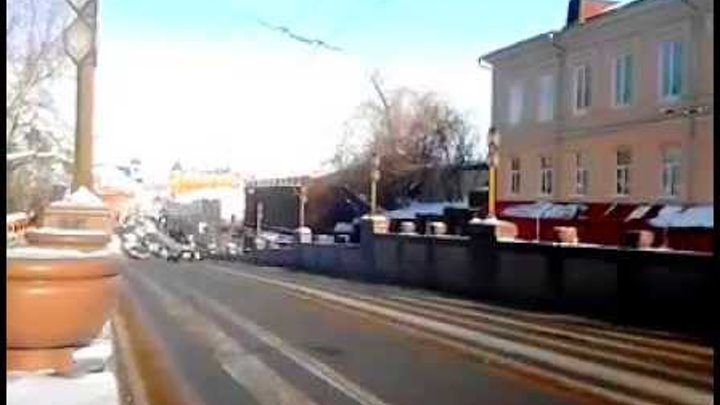 улицы Томска ускорение в 16 раз февраль 2015