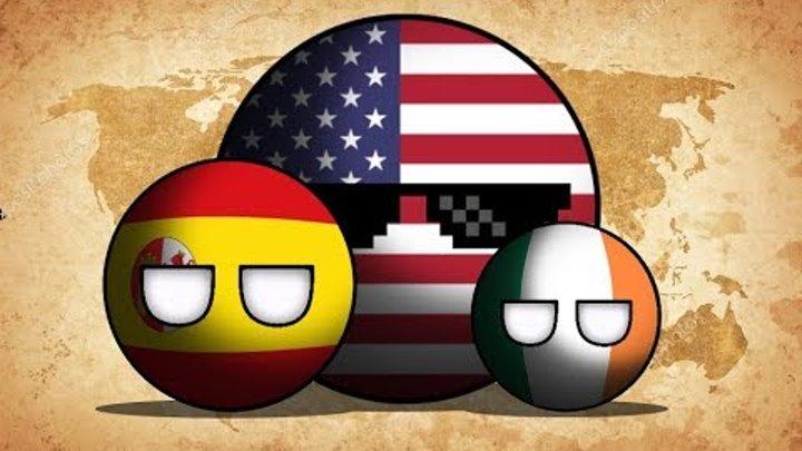 COUNTRYBALLS | Альтернативная Холодная Война | 1 сезон 2 серия | США наносит ответный удар